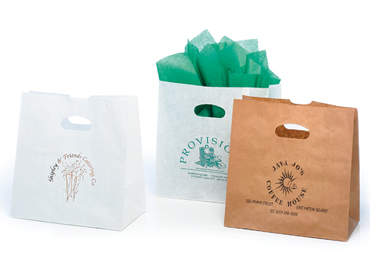 Die Cut Handle Paper Bags The Premier Line Promotional