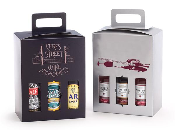 Sampler Wine Amp Beer Box The Premier Line Promotional